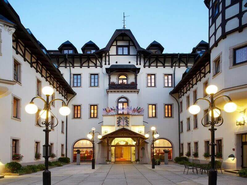 Marienbad Hotel Resort Hvezda Von Haus Zu Haus
